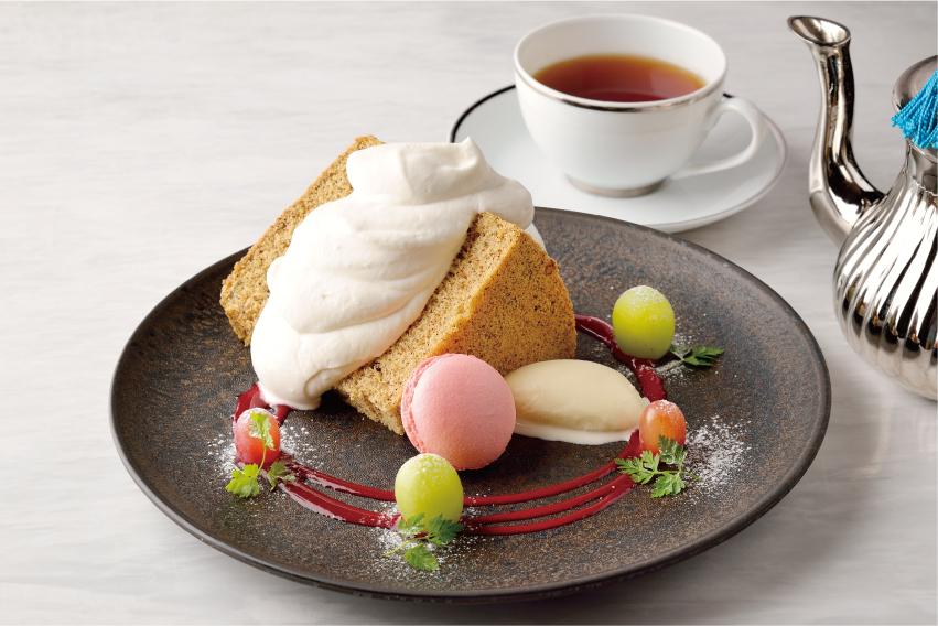 アールグレイのシフォンケーキ